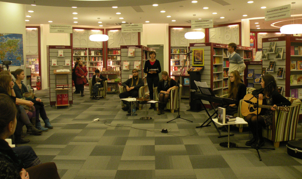 "(c) Lithuanian Tolkien Society, Presentation of ""The Silmarillion"", Vilnius, 2009"