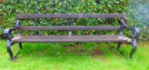 Bench at Wolvercote Cemetery (c) Marcel Aubron-Bülles