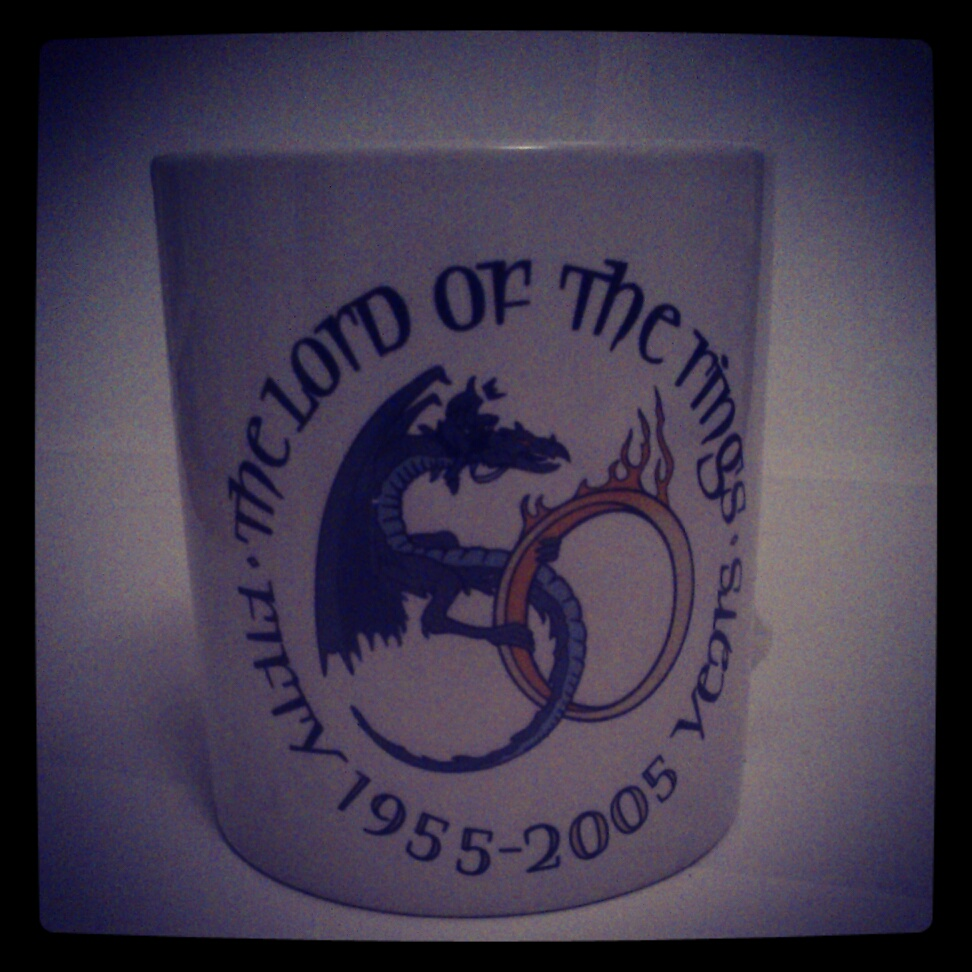 Middle earth tea coffee mug special fond memories in ceramics 2005 birmingham tolkien conference aston university organised by the tolkien society biocorpaavc Choice Image