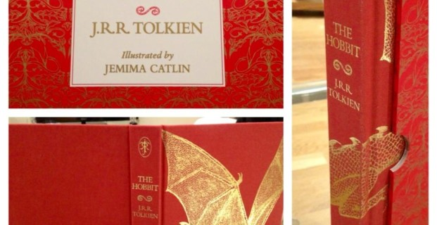 The beauty that is this new 'Hobbit' edition, illustrated by Jemima Catlin