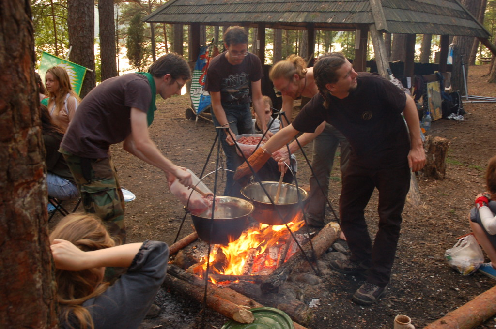A culinary battle while journeying through Mirkwood