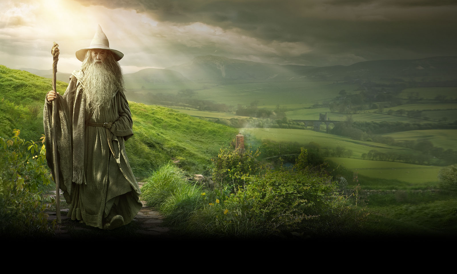 gandalf the hobbit Tolkien does not describe hobbits' ears in the hobbit or the lord of the rings, but in a 1938 letter to his american publisher, he described them as having ears only slightly pointed and 'elvish' tolkien describes hobbits thus.