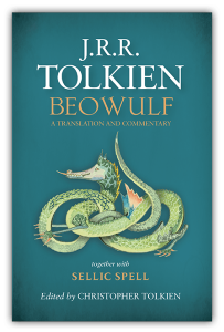 J.R.R. Tolkien: Beowulf: A Translation and Commentary. Jacket layout design © HarperCollinsPublishers 2014