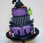 Tracey Rothwell (c) Nightmare before Christmas cake