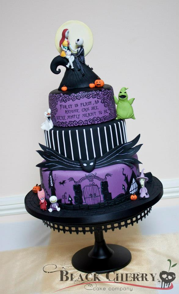 Tracey Rothwell (c) Nightmare before Christmas cake ...
