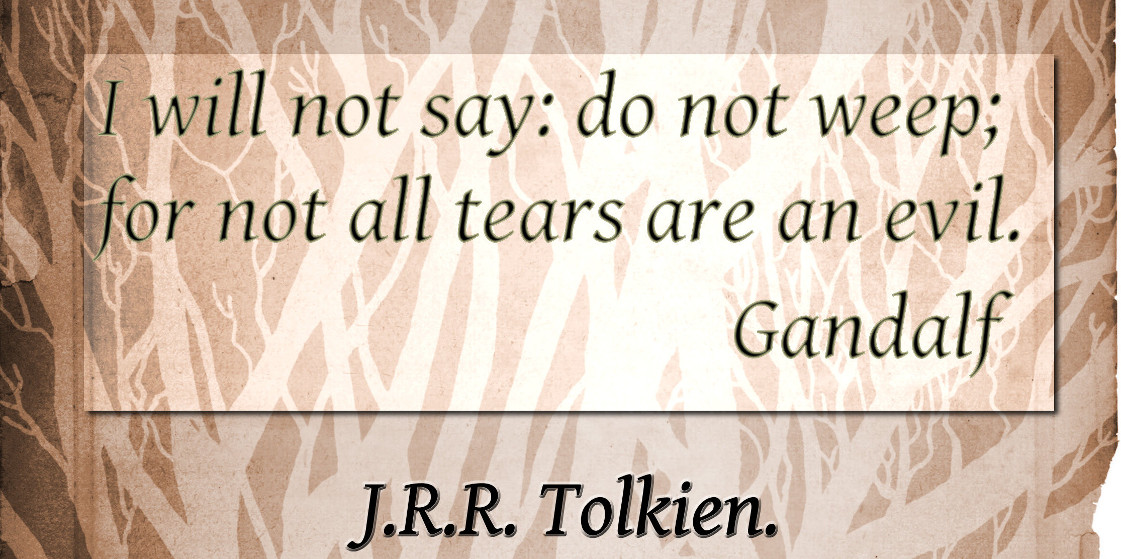Hobbit quotes with page numbers quotesgram
