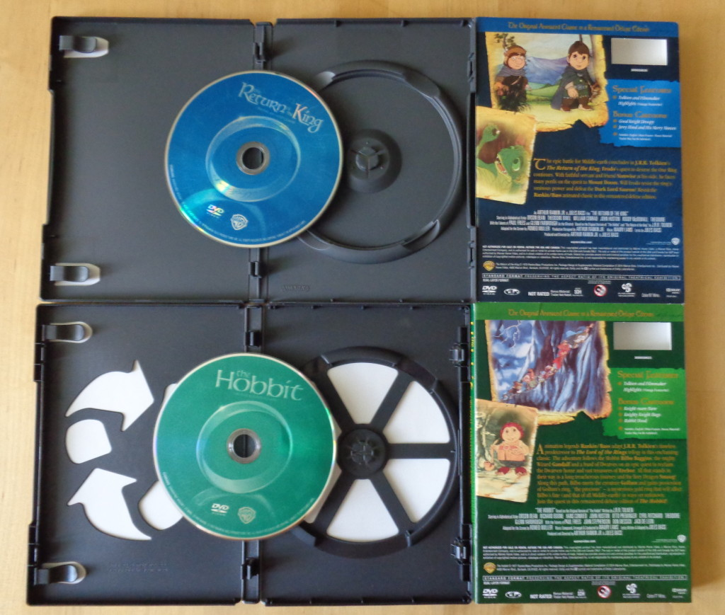 Unpacking Hobbit and Return of the King - digitally remastered versions