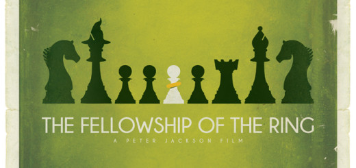 Tolkien Minimalist Posters: Patrick. Connan. The Fellowship of the Ring (c)