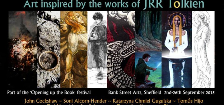 'Evil in the Shining Light: Art inspired by the works of JRR Tolkien', curated by John Cockshaw