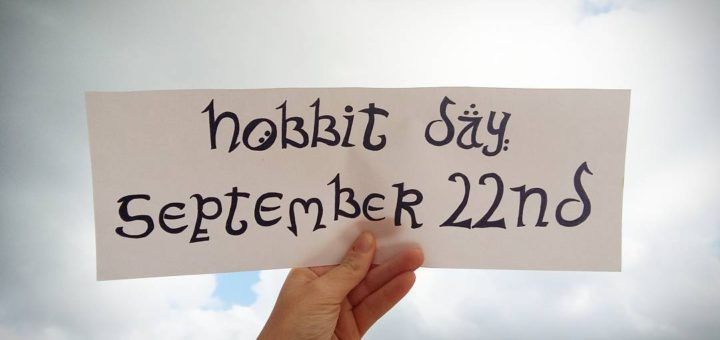 Hobbit Day Banner (c)theisleofapples